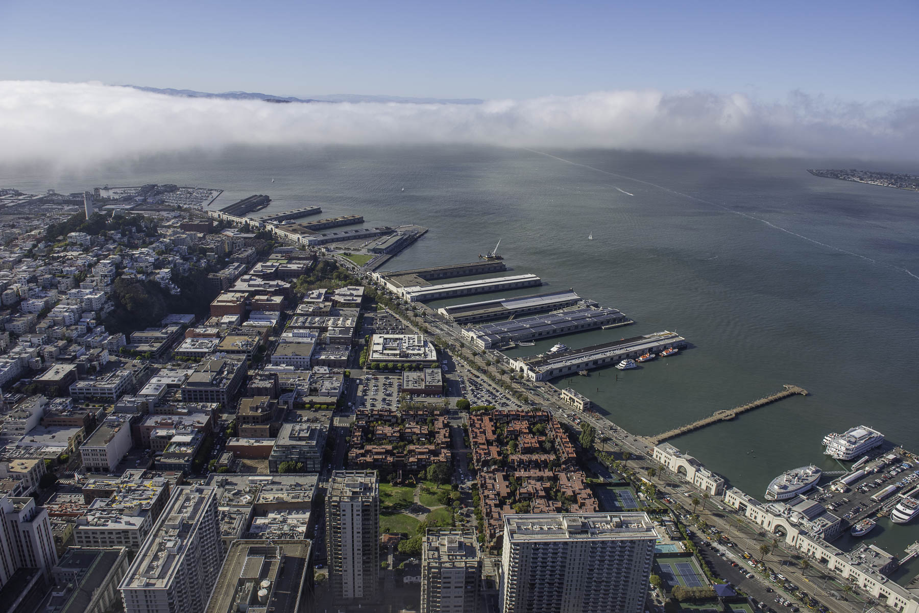 San Francisco, aerial view.